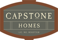 previous Capstone Homes logo